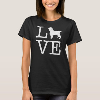 Love English Springer Spaniel T-Shirt