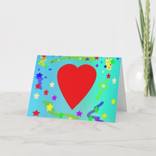 Love Holiday Card