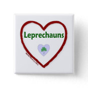 Love Leprechauns Pin