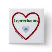 Love Leprechauns Pin