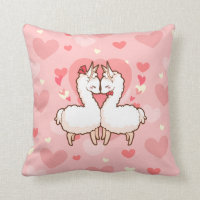 Love Llama Pillow