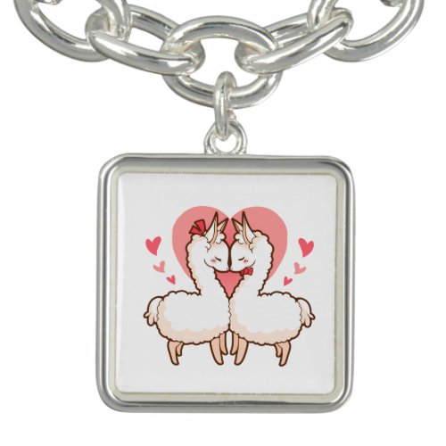 Love Llamas Charm Bracelet