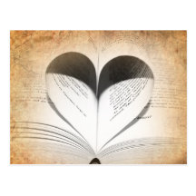Love of Books Postcard