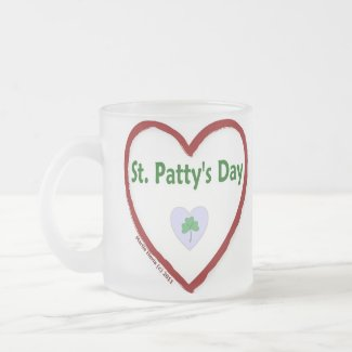 Love St. Patty's Day Mugs