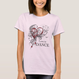 Love to Dance BabyDoll T-Shirt