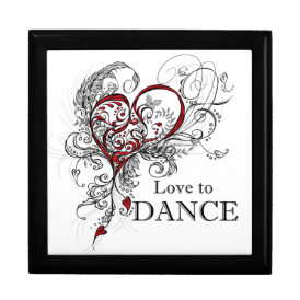 Love to Dance (Black) Gift Box