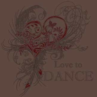Love to Dance Dark T-shirt (customizable)