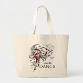 Love to Dance Tote (customizable)
