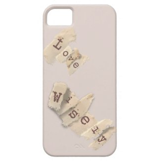 Love Wisely iPhone 5 Cases
