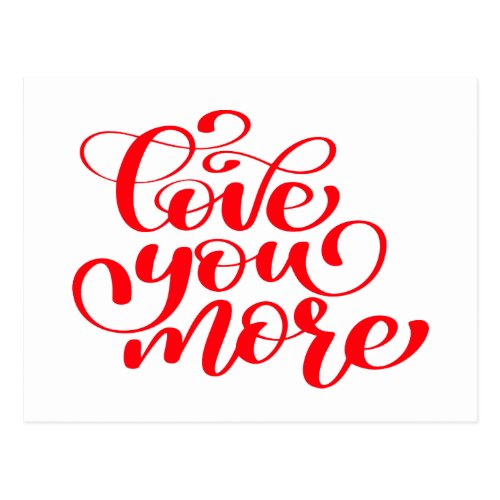 Love You More, Thinking of You, Miss You, Hello Postcard