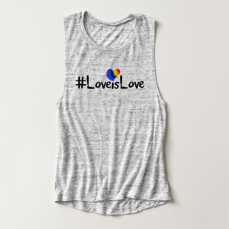 #LoveIsLove hashtag tshirt