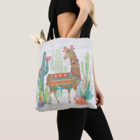 Lovely Llamas III Tote Bag