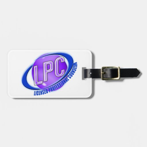 LPC SWOOSH LOGO LICENSED PROFESSIONAL COUNSELOR TRAVEL BAG ...