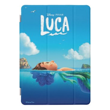 Luca   Human & Sea Monster Luca Theatrical Poster iPad Pro Cover