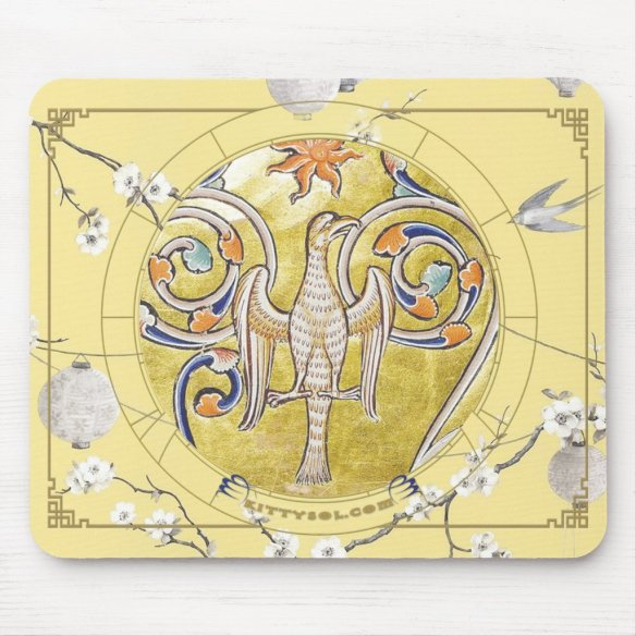 Lucky Bird | Zodiac mousepad