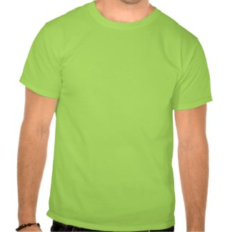 Lucky Cartoon Horse on St Patrick's Day Apparel shirt