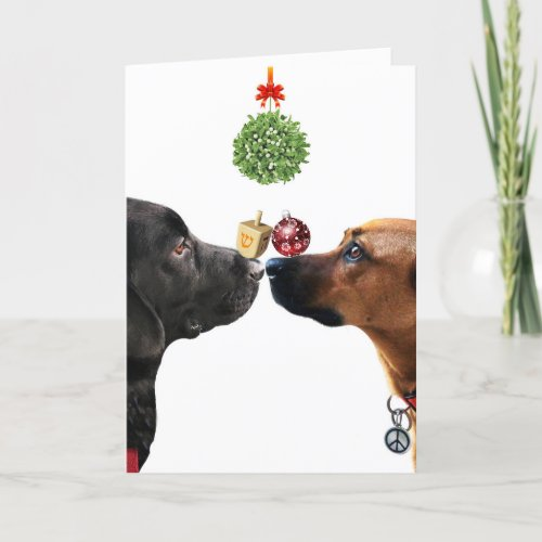 Lucky Dogs Holiday Card