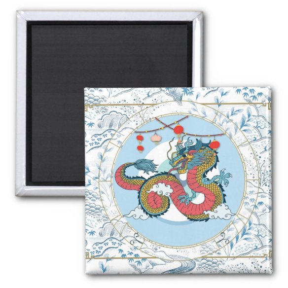 Lucky Dragon | Zodiac magnet