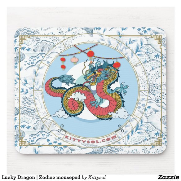 Lucky Dragon | Zodiac mousepad