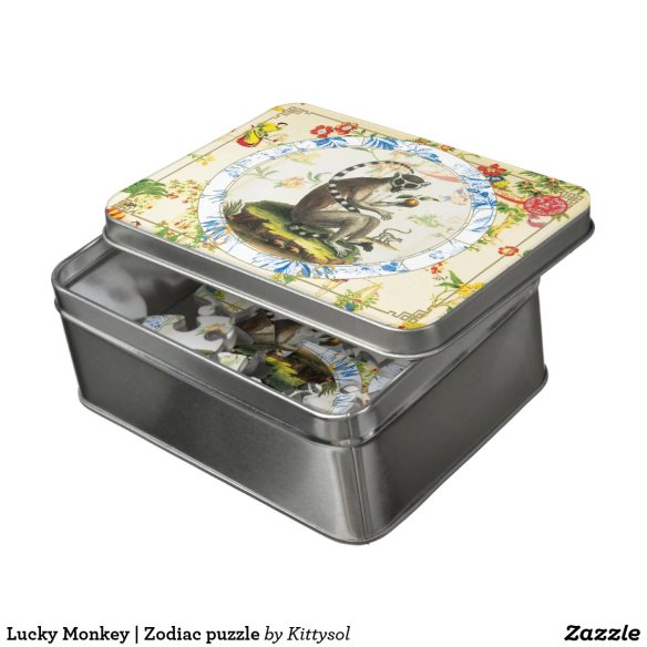 Lucky Monkey | Zodiac puzzle