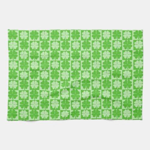 Lucky Shamrock St. Patrick's Day Towel
