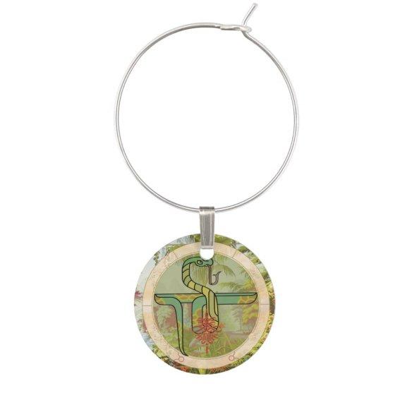 Lucky Snake | Zodiac token Wine Charm