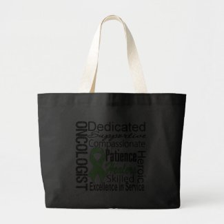 Lymphoma Oncologist Collage bag
