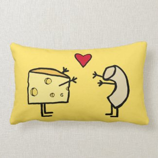 Mac and Cheese Pillow