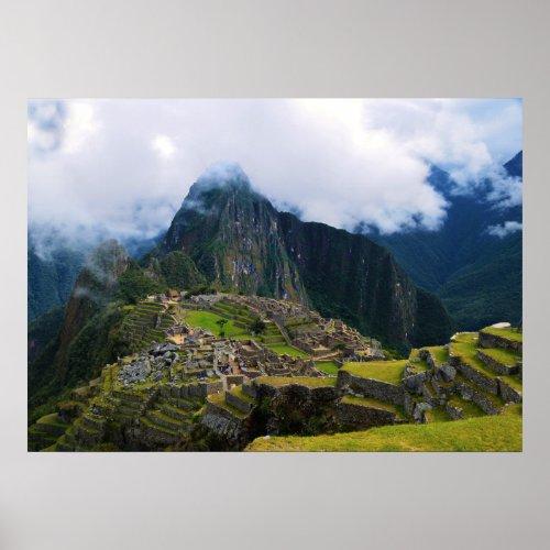 Machu Picchu Overlook, Peru Poster