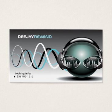 Mad Beats - DJ Business Cards