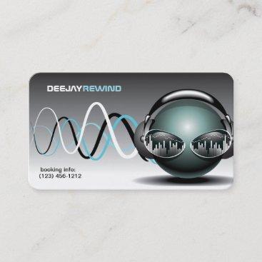 Mad Beats - DJ Business Cards