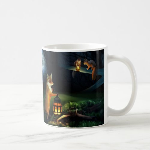 Magic Forest Wildlife Classic Mug