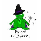 Magical Frog Hoppy Halloween Tshirt shirt