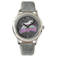 Magical Rainbow Unicorn Retro 80s Wrist Watch