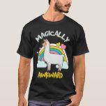 Magically Awkward Llamacorn Llama Unicorn Lovers T-Shirt