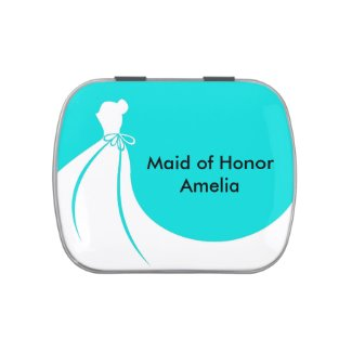 Maid of Honor Mint Tin Jelly Belly Tins