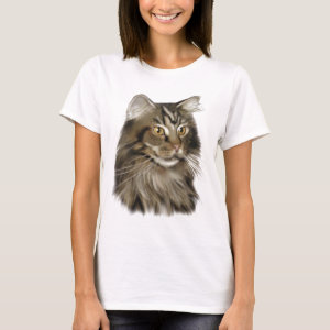 Maine Coon Cat Tee Shirts Love Maine Coon Cats Then