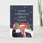 Make Christmas Great Again Holiday Card