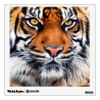 Male Siberian Tiger Wall Stickers