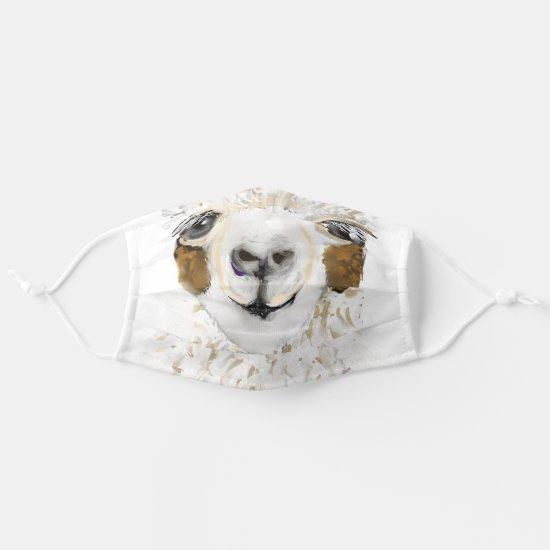 Mama Llama Cloth Face Mask
