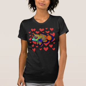 Mandarin / Dragonet Fish Love Shirt