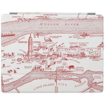 MAP: MANHATTAN, c1935 iPad Smart Cover