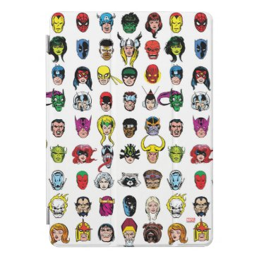 Marvel Comic Characters Pattern iPad Pro Cover