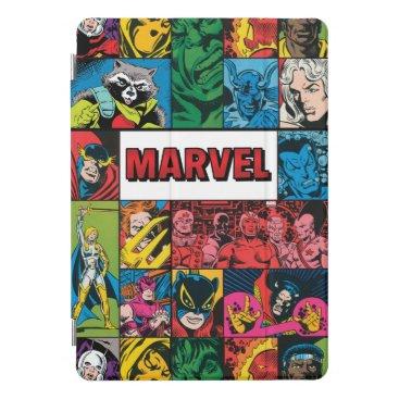 Marvel Comics Hero Collage iPad Pro Cover
