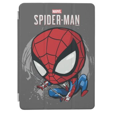 Marvel's Spider-Man | Cartoon Spidey Web Swing iPad Air Cover