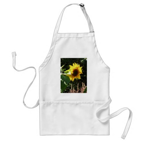 maternal sunflower apron
