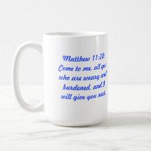 Matthew 11:28 Classic Coffee Mug with Chapel
