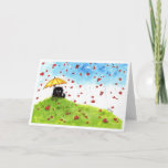 May you be Showered with Love Card by Bihrle