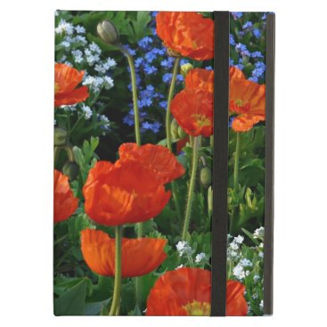 Meadow of Summer Flowers with Poppies iPad Air Case