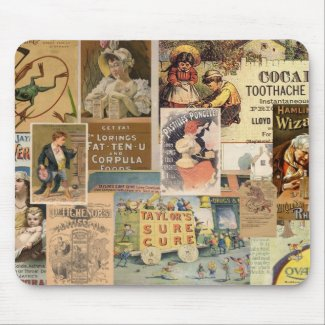Medicinal Collage Mousepad